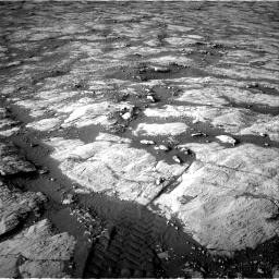 Nasa's Mars rover Curiosity acquired this image using its Right Navigation Camera on Sol 2742, at drive 1558, site number 79