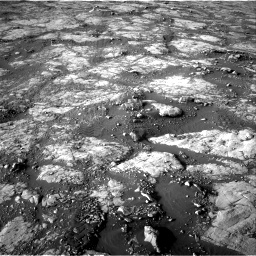 Nasa's Mars rover Curiosity acquired this image using its Right Navigation Camera on Sol 2742, at drive 1588, site number 79