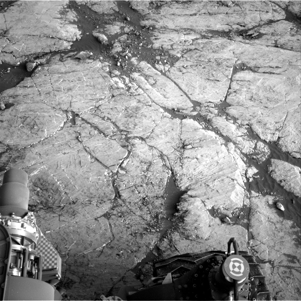 Nasa's Mars rover Curiosity acquired this image using its Right Navigation Camera on Sol 2742, at drive 1670, site number 79