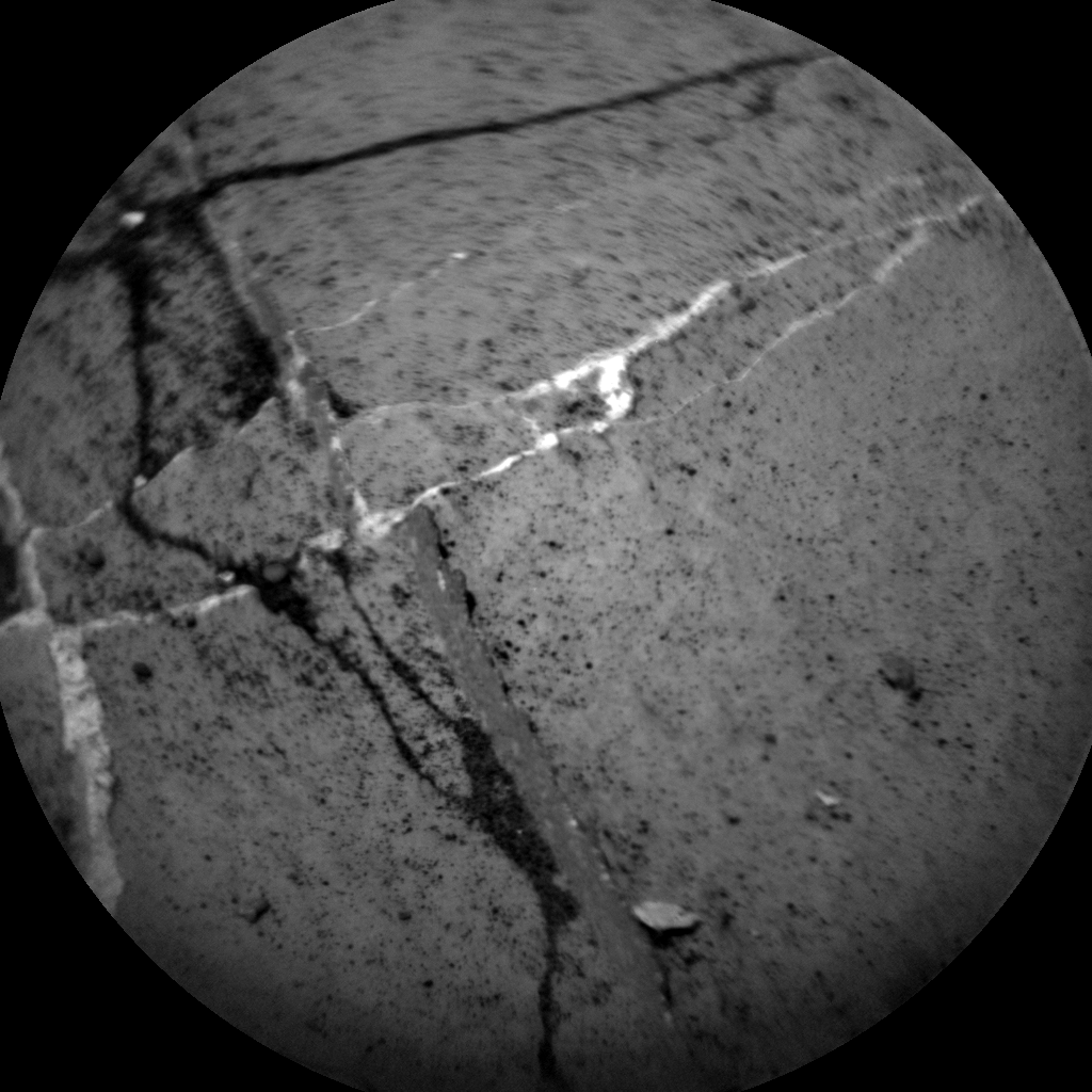 Nasa's Mars rover Curiosity acquired this image using its Chemistry & Camera (ChemCam) on Sol 2742, at drive 1222, site number 79
