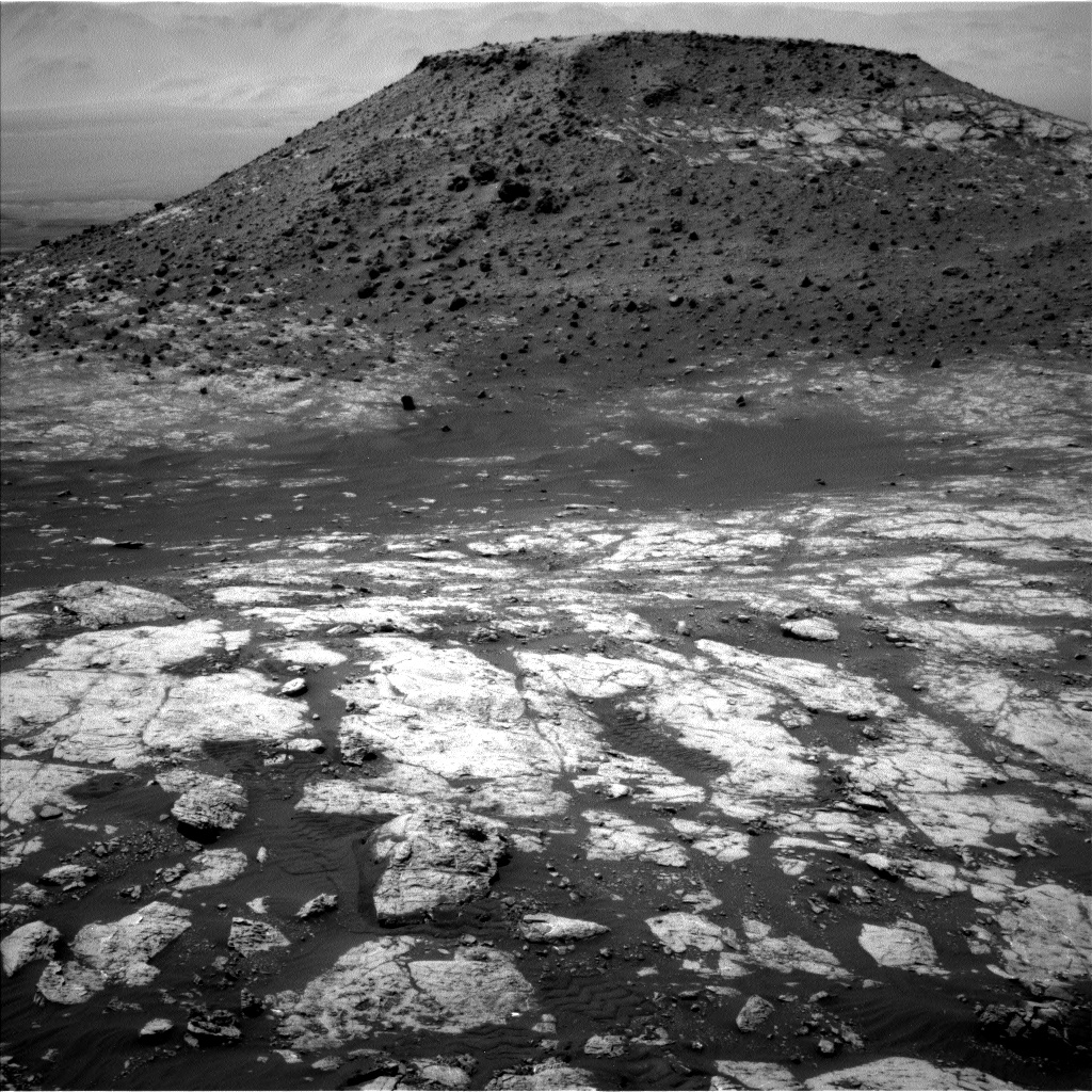 Nasa's Mars rover Curiosity acquired this image using its Left Navigation Camera on Sol 2743, at drive 1670, site number 79