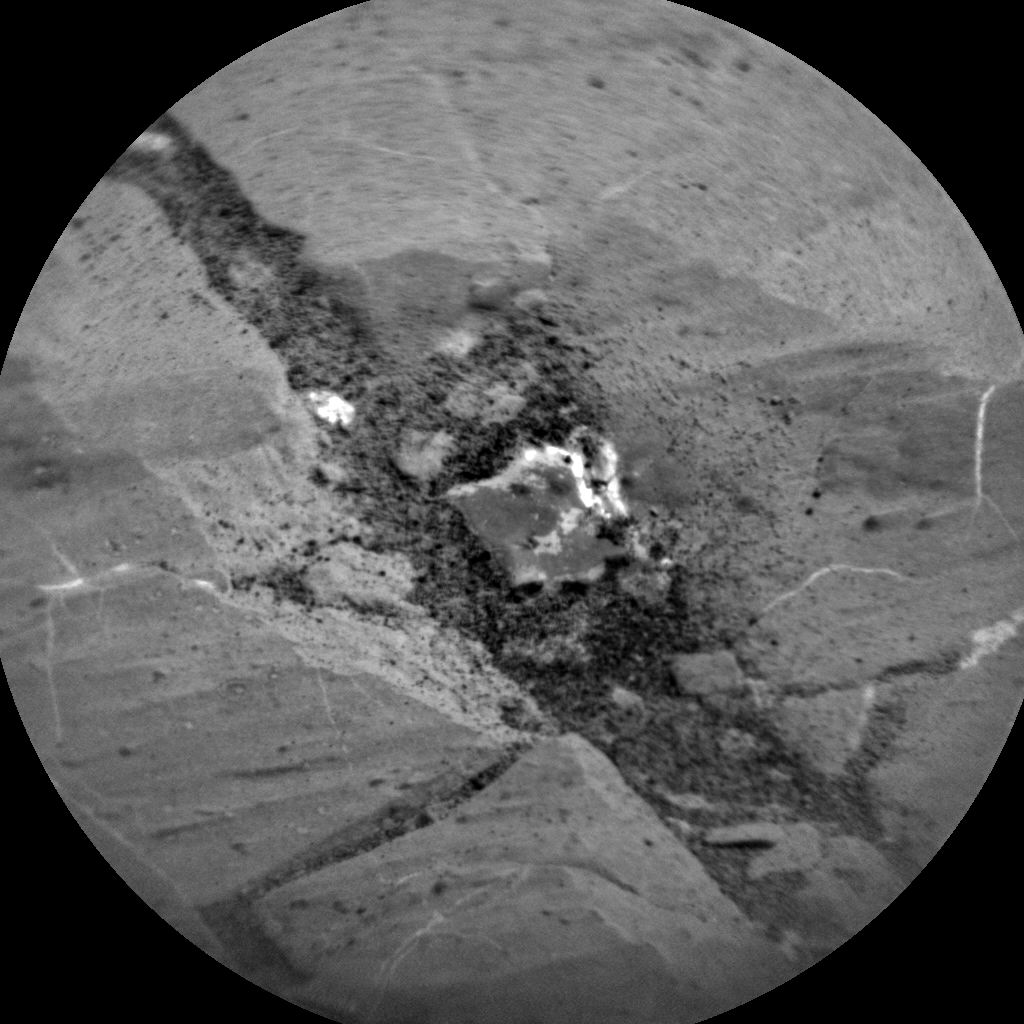 Nasa's Mars rover Curiosity acquired this image using its Chemistry & Camera (ChemCam) on Sol 2743, at drive 1670, site number 79