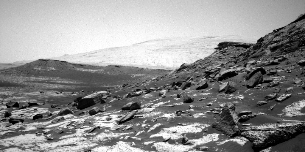 Nasa's Mars rover Curiosity acquired this image using its Right Navigation Camera on Sol 2744, at drive 1670, site number 79