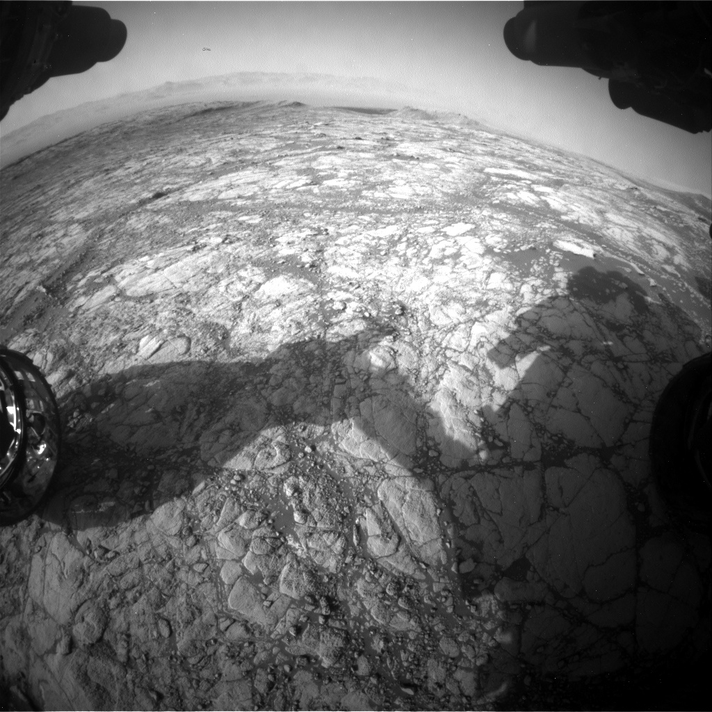 Nasa's Mars rover Curiosity acquired this image using its Front Hazard Avoidance Camera (Front Hazcam) on Sol 2745, at drive 1956, site number 79