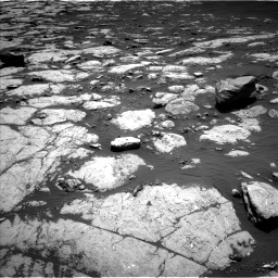 Nasa's Mars rover Curiosity acquired this image using its Left Navigation Camera on Sol 2745, at drive 1676, site number 79