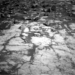 Nasa's Mars rover Curiosity acquired this image using its Left Navigation Camera on Sol 2745, at drive 1748, site number 79