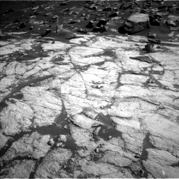 Nasa's Mars rover Curiosity acquired this image using its Left Navigation Camera on Sol 2745, at drive 1784, site number 79