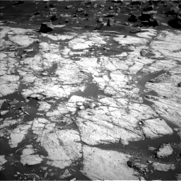 Nasa's Mars rover Curiosity acquired this image using its Left Navigation Camera on Sol 2745, at drive 1802, site number 79