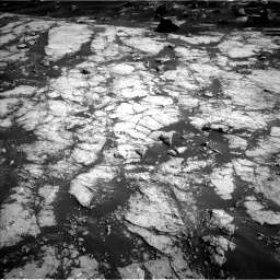 Nasa's Mars rover Curiosity acquired this image using its Left Navigation Camera on Sol 2745, at drive 1820, site number 79
