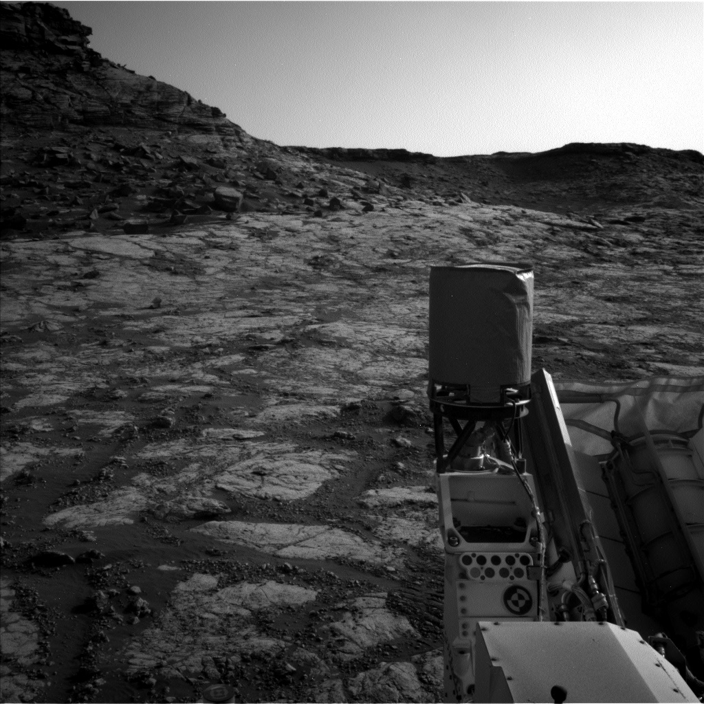 Nasa's Mars rover Curiosity acquired this image using its Left Navigation Camera on Sol 2745, at drive 1956, site number 79