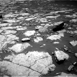 Nasa's Mars rover Curiosity acquired this image using its Right Navigation Camera on Sol 2745, at drive 1676, site number 79