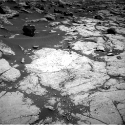 Nasa's Mars rover Curiosity acquired this image using its Right Navigation Camera on Sol 2745, at drive 1694, site number 79