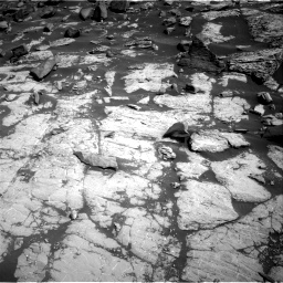 Nasa's Mars rover Curiosity acquired this image using its Right Navigation Camera on Sol 2745, at drive 1736, site number 79
