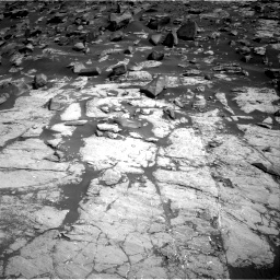 Nasa's Mars rover Curiosity acquired this image using its Right Navigation Camera on Sol 2745, at drive 1748, site number 79