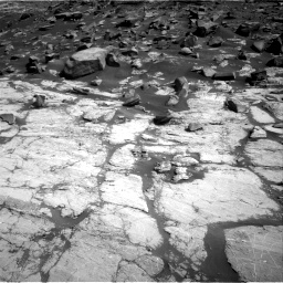 Nasa's Mars rover Curiosity acquired this image using its Right Navigation Camera on Sol 2745, at drive 1766, site number 79