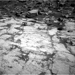 Nasa's Mars rover Curiosity acquired this image using its Right Navigation Camera on Sol 2745, at drive 1772, site number 79
