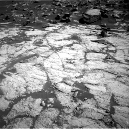 Nasa's Mars rover Curiosity acquired this image using its Right Navigation Camera on Sol 2745, at drive 1790, site number 79