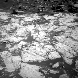 Nasa's Mars rover Curiosity acquired this image using its Right Navigation Camera on Sol 2745, at drive 1802, site number 79