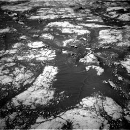 Nasa's Mars rover Curiosity acquired this image using its Right Navigation Camera on Sol 2745, at drive 1874, site number 79