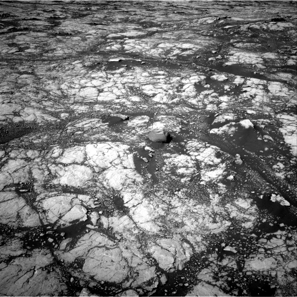 Nasa's Mars rover Curiosity acquired this image using its Right Navigation Camera on Sol 2745, at drive 1910, site number 79