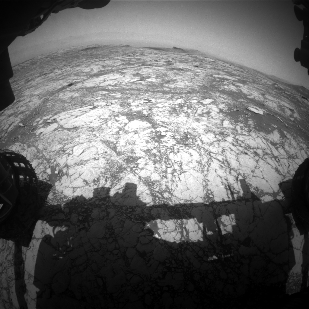 Nasa's Mars rover Curiosity acquired this image using its Front Hazard Avoidance Camera (Front Hazcam) on Sol 2746, at drive 1956, site number 79
