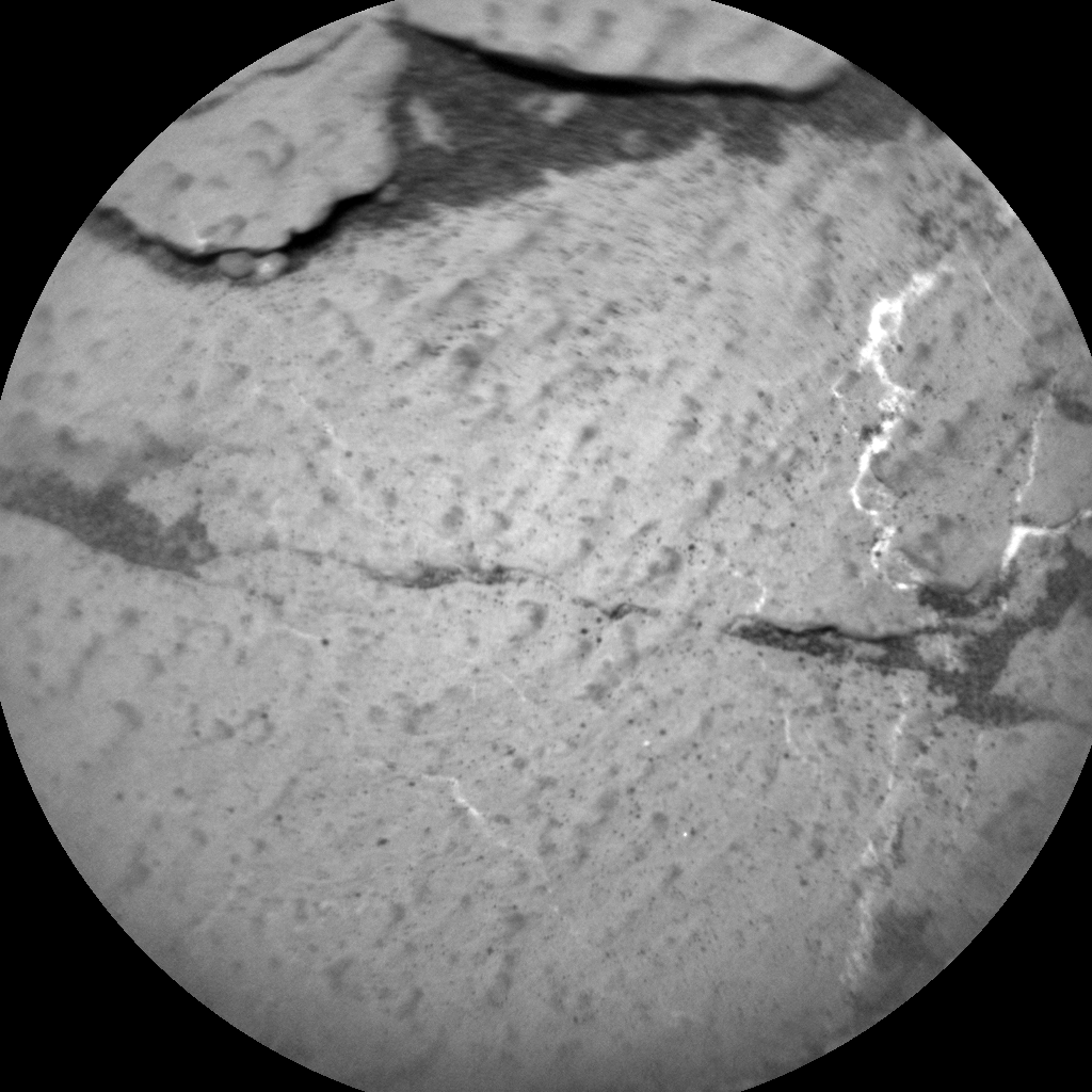Nasa's Mars rover Curiosity acquired this image using its Chemistry & Camera (ChemCam) on Sol 2747, at drive 1956, site number 79