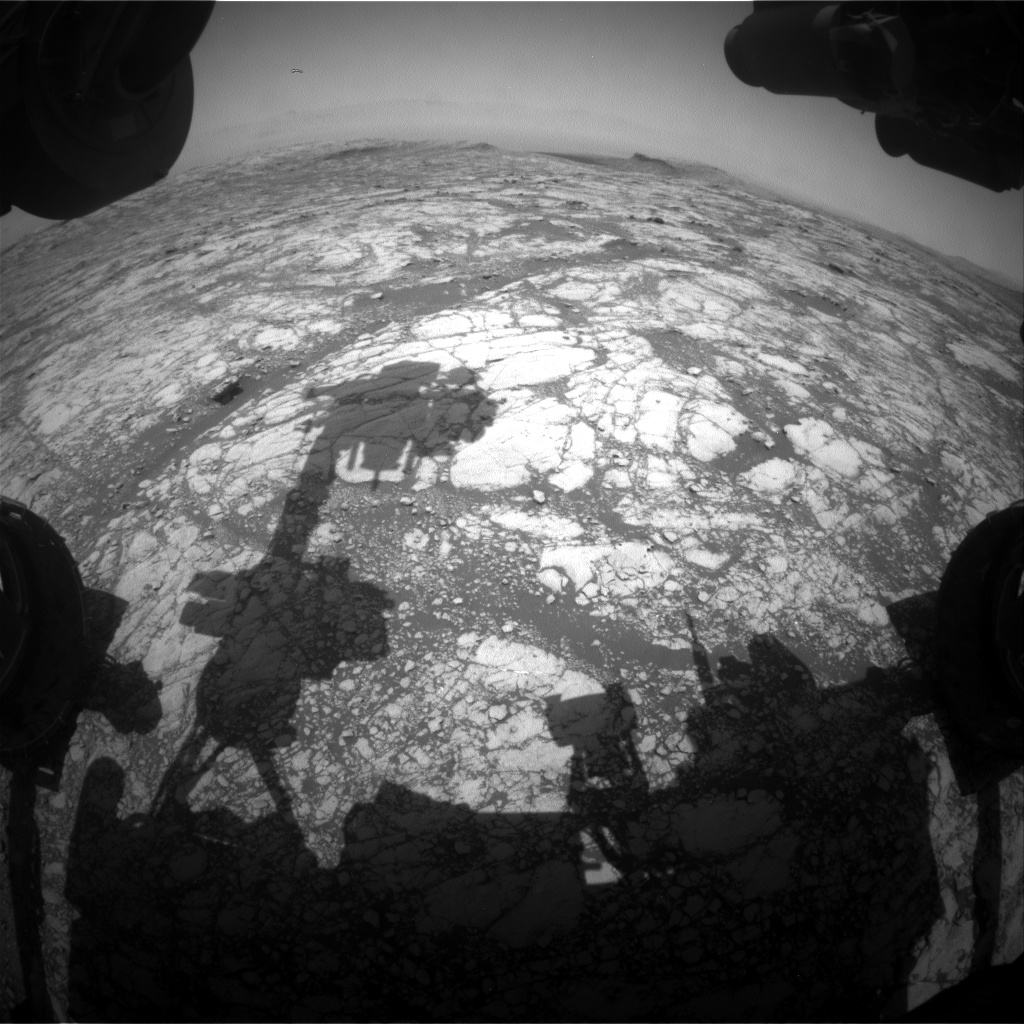 Nasa's Mars rover Curiosity acquired this image using its Front Hazard Avoidance Camera (Front Hazcam) on Sol 2748, at drive 2008, site number 79
