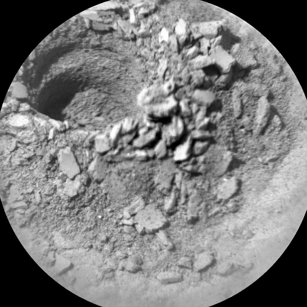 Nasa's Mars rover Curiosity acquired this image using its Chemistry & Camera (ChemCam) on Sol 2755, at drive 2008, site number 79