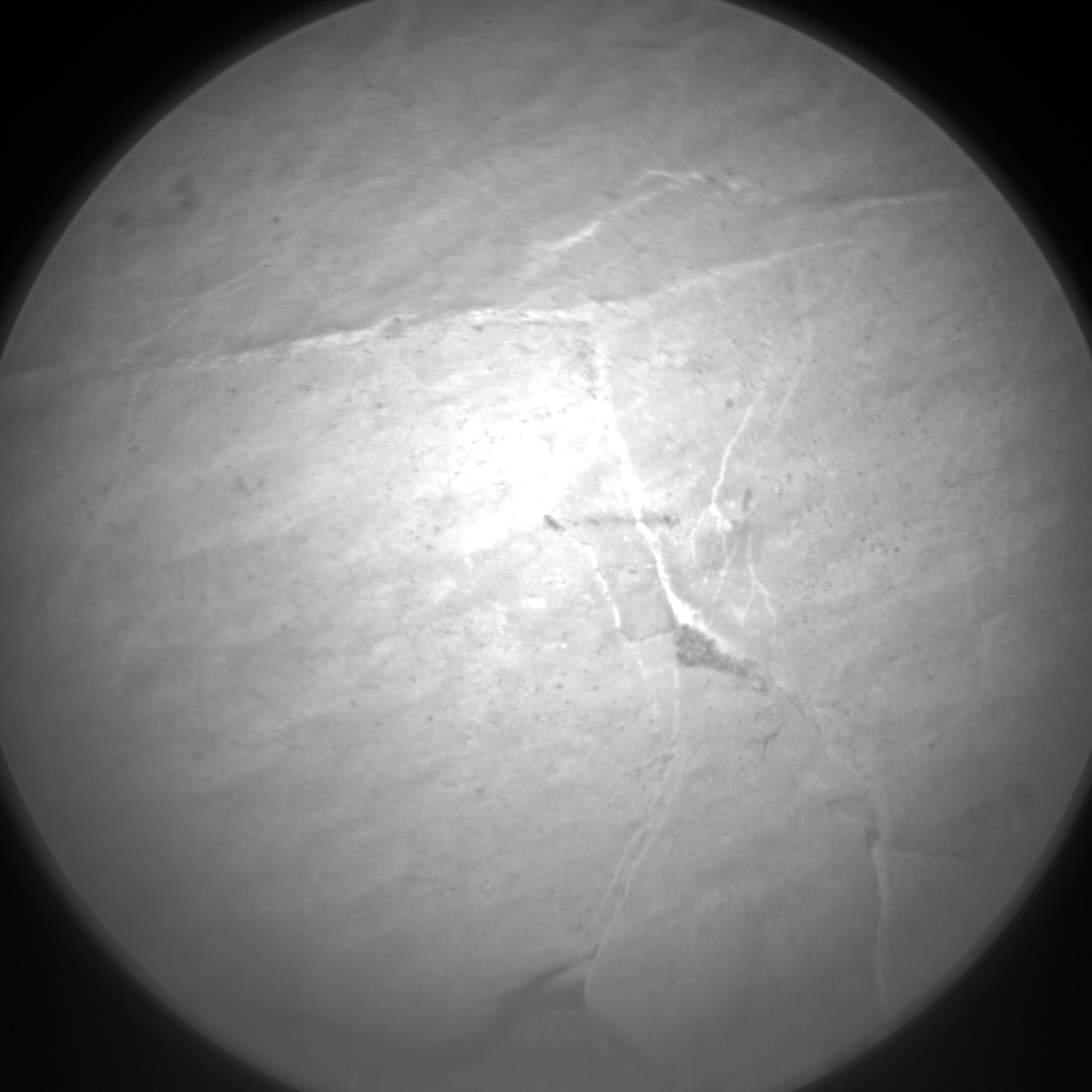 Nasa's Mars rover Curiosity acquired this image using its Chemistry & Camera (ChemCam) on Sol 2756, at drive 2008, site number 79