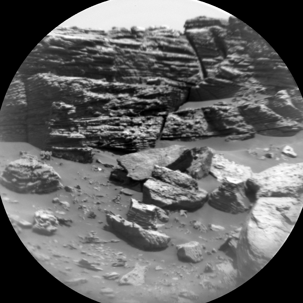 Nasa's Mars rover Curiosity acquired this image using its Chemistry & Camera (ChemCam) on Sol 2757, at drive 2008, site number 79