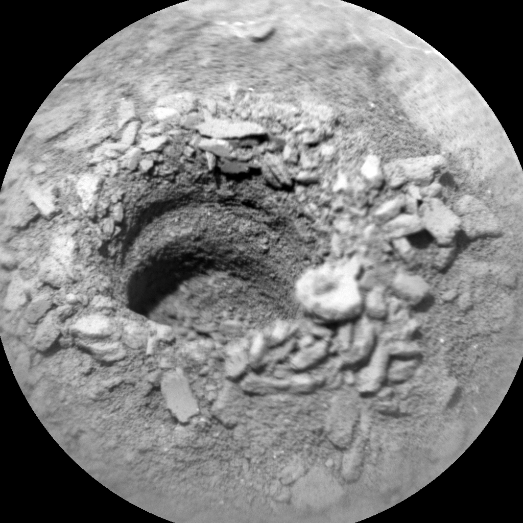 Nasa's Mars rover Curiosity acquired this image using its Chemistry & Camera (ChemCam) on Sol 2758, at drive 2008, site number 79