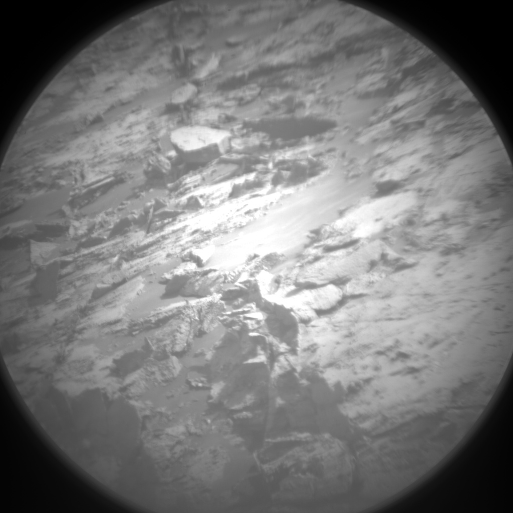 Nasa's Mars rover Curiosity acquired this image using its Chemistry & Camera (ChemCam) on Sol 2761, at drive 2008, site number 79