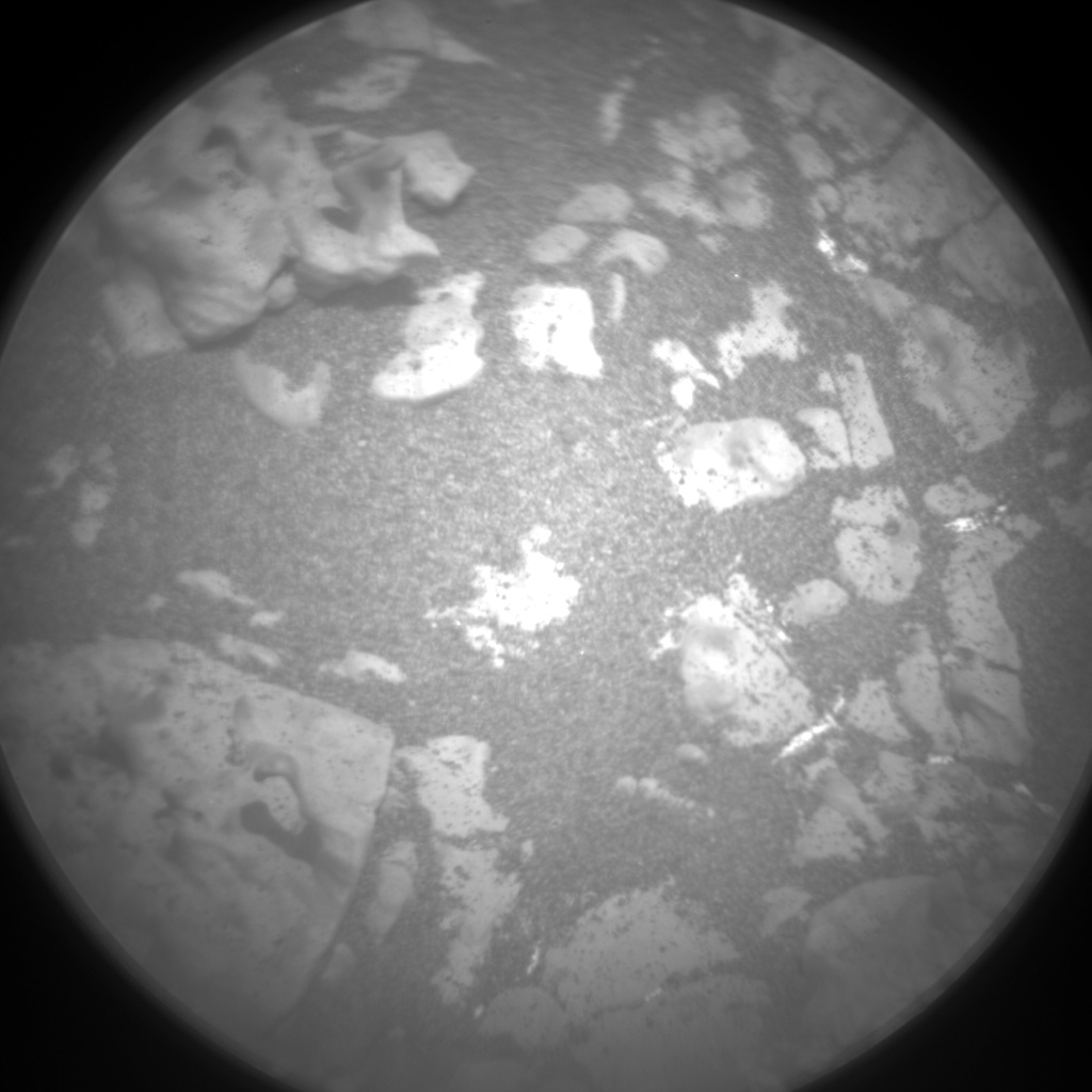 Nasa's Mars rover Curiosity acquired this image using its Chemistry & Camera (ChemCam) on Sol 2769, at drive 2008, site number 79