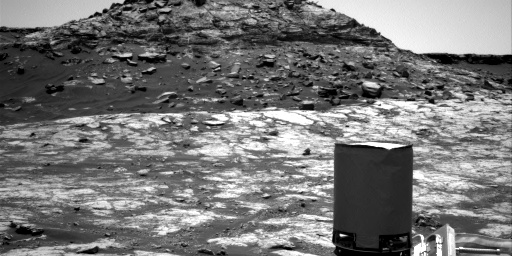 Nasa's Mars rover Curiosity acquired this image using its Right Navigation Camera on Sol 2772, at drive 2008, site number 79