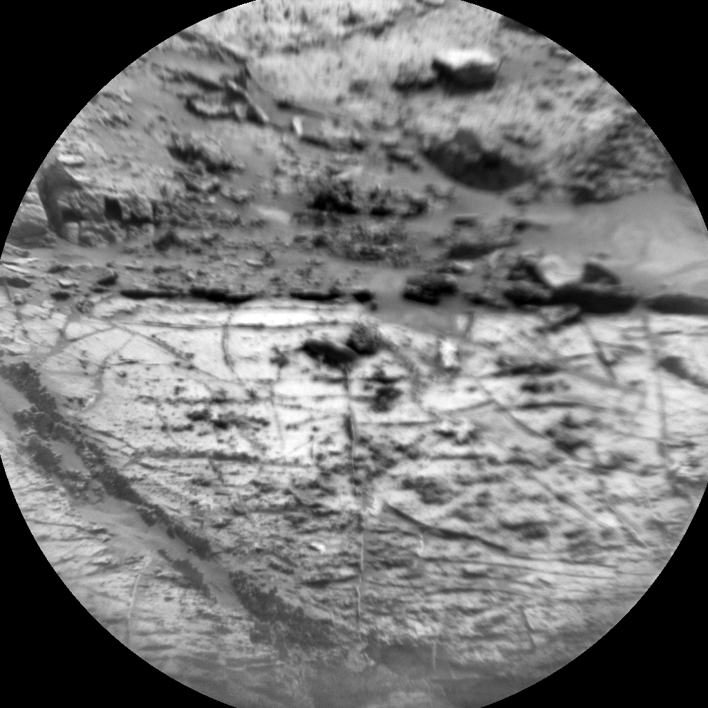 Nasa's Mars rover Curiosity acquired this image using its Chemistry & Camera (ChemCam) on Sol 2772, at drive 2008, site number 79