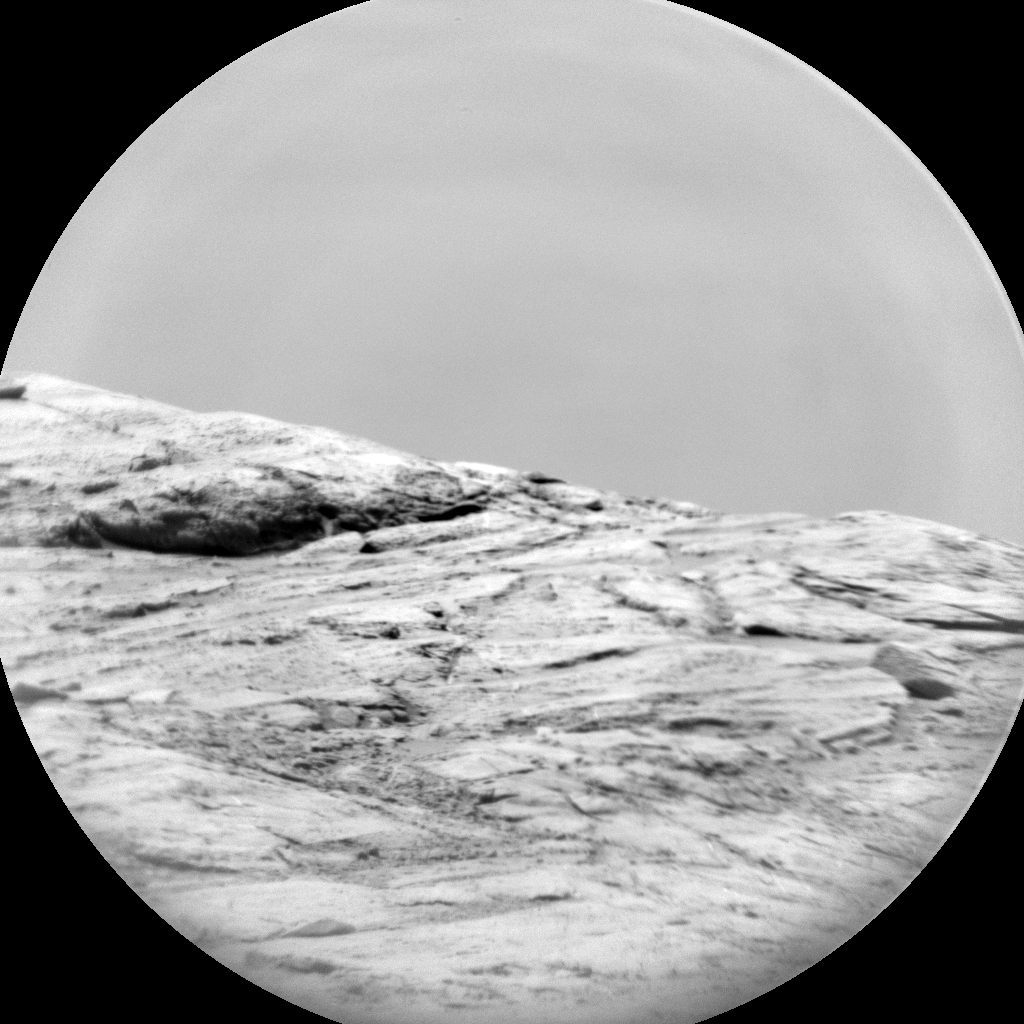 Nasa's Mars rover Curiosity acquired this image using its Chemistry & Camera (ChemCam) on Sol 2777, at drive 2008, site number 79