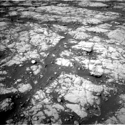 Nasa's Mars rover Curiosity acquired this image using its Left Navigation Camera on Sol 2780, at drive 2092, site number 79