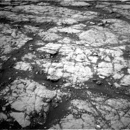 Nasa's Mars rover Curiosity acquired this image using its Left Navigation Camera on Sol 2780, at drive 2098, site number 79