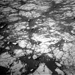 Nasa's Mars rover Curiosity acquired this image using its Left Navigation Camera on Sol 2780, at drive 2152, site number 79
