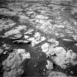 Nasa's Mars rover Curiosity acquired this image using its Left Navigation Camera on Sol 2780, at drive 2206, site number 79