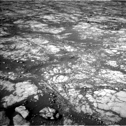 Nasa's Mars rover Curiosity acquired this image using its Left Navigation Camera on Sol 2780, at drive 2290, site number 79