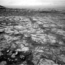 Nasa's Mars rover Curiosity acquired this image using its Left Navigation Camera on Sol 2780, at drive 2302, site number 79