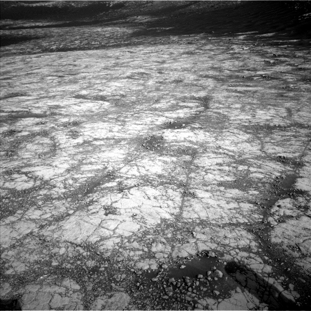Nasa's Mars rover Curiosity acquired this image using its Left Navigation Camera on Sol 2780, at drive 2314, site number 79