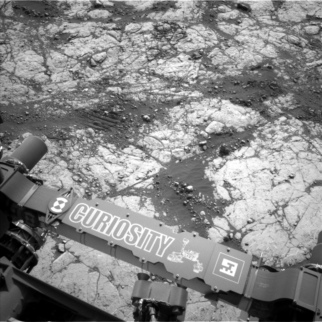 Nasa's Mars rover Curiosity acquired this image using its Left Navigation Camera on Sol 2780, at drive 2330, site number 79