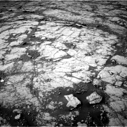 Nasa's Mars rover Curiosity acquired this image using its Right Navigation Camera on Sol 2780, at drive 2182, site number 79