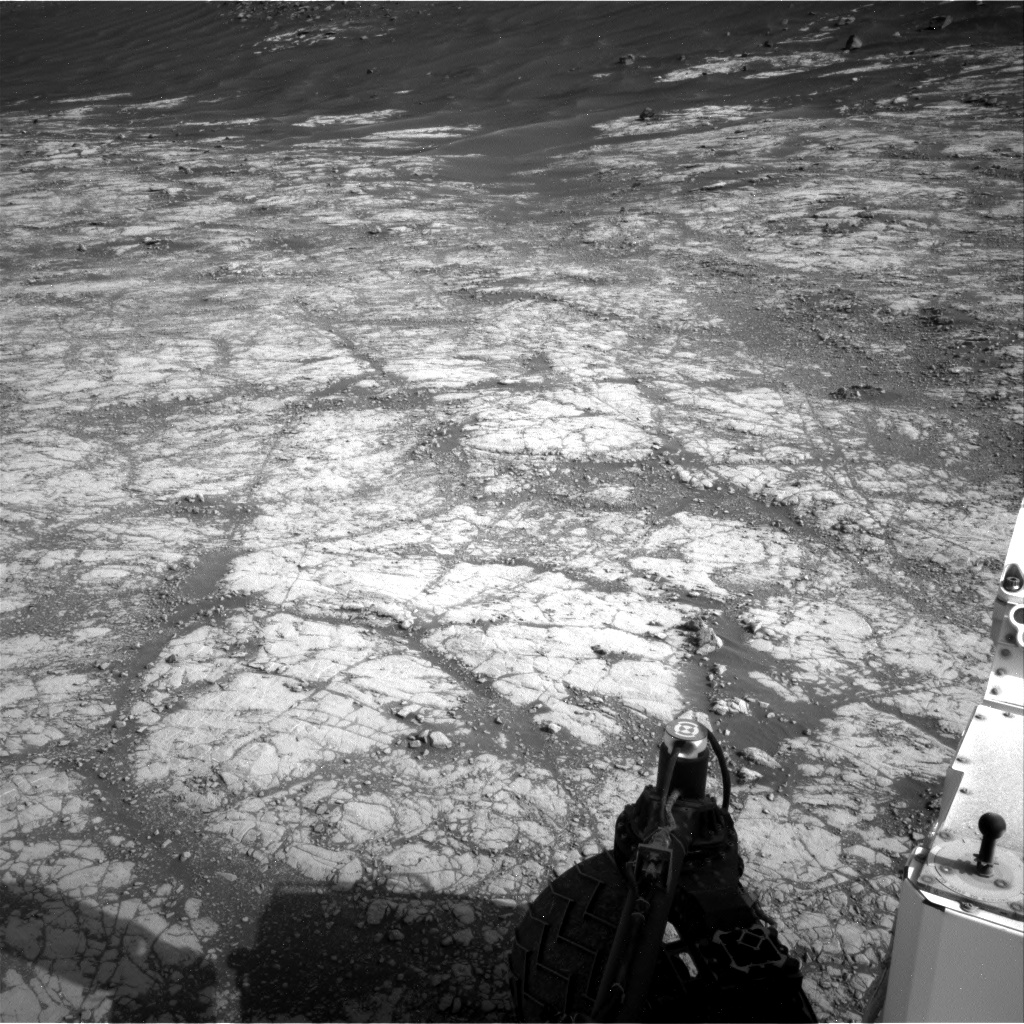 Nasa's Mars rover Curiosity acquired this image using its Right Navigation Camera on Sol 2780, at drive 2314, site number 79
