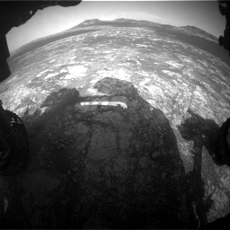 Nasa's Mars rover Curiosity acquired this image using its Front Hazard Avoidance Camera (Front Hazcam) on Sol 2781, at drive 2468, site number 79
