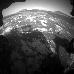 Nasa's Mars rover Curiosity acquired this image using its Front Hazard Avoidance Camera (Front Hazcam) on Sol 2781, at drive 2552, site number 79