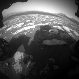 Nasa's Mars rover Curiosity acquired this image using its Front Hazard Avoidance Camera (Front Hazcam) on Sol 2781, at drive 2612, site number 79
