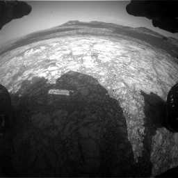 Nasa's Mars rover Curiosity acquired this image using its Front Hazard Avoidance Camera (Front Hazcam) on Sol 2781, at drive 2426, site number 79
